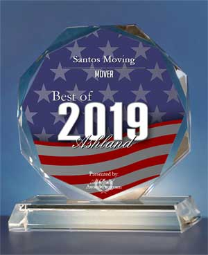 2019 Best of Ashland Awards in the category of Mover